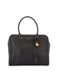 Alexander Mcqueen - Medium Padlock Satchel Bag