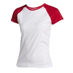 SOLS  - Milky Contrast Short Sleeve T-Shirt