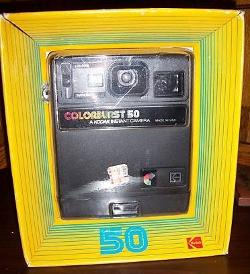 Kodak  - Instant Colorburst 50 Camera