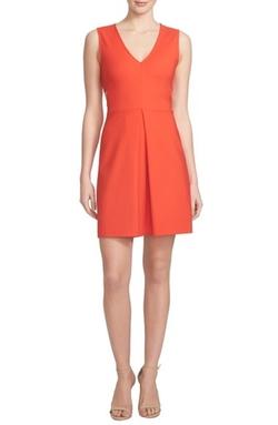1.State - V-Neck Side Cutout Dress