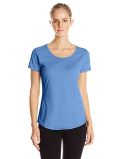 Hanes - Short Sleeve Scoop Neck Tee