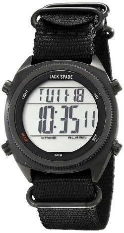 Jack Spade  - Digital Display Quartz Watch