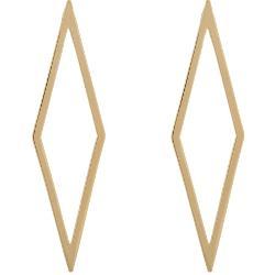 Jennifer Fisher  - Hollow Diamond Ignite Drop Earrings
