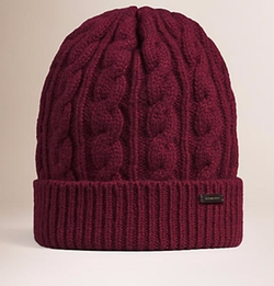 Burberry - Cable Knit Wool Cashmere Beanie