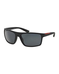 Prada  - Rectangular Plastic Sunglasses