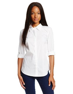 Trina Turk - Elaine Crisp Shirting Button Top