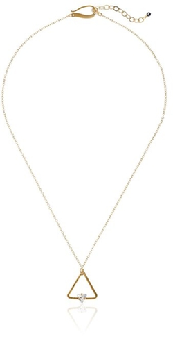 Kris Nations - Swarovski Crystal Triangle Necklace