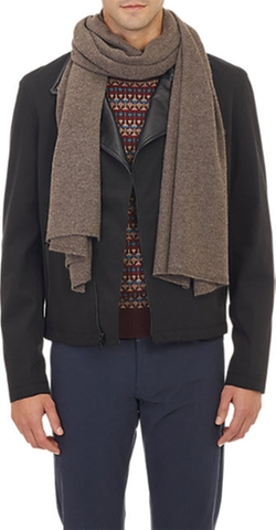 Barneys New York  - Knit Scarf