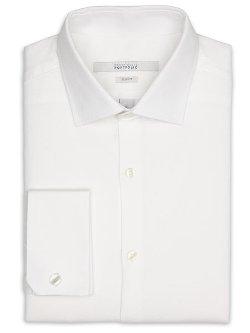 Perry Ellis - Slim Fit French Cuff Portfolio Dress Shirt