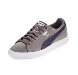 Puma - Clyde B&C Suede Low-Top Sneakers