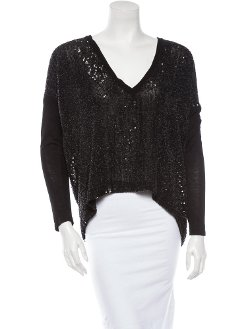 Robert Rodriguez  - Sequin Top With Tags