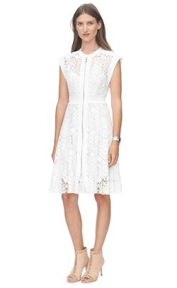 Rebecca Taylor - Floral Lace Dress