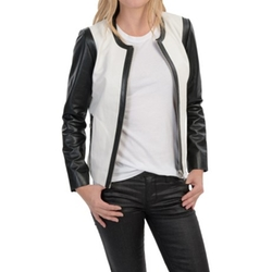 Dakota Collective - Two-Tone Leather Jacket