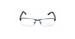Oga - Designer Half-Rim Spring Hinges Eyeglasses