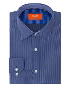 Tallia Orange - Micro Stripe Dress Shirt