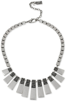 Kenneth Cole New York - Geometric Stick and Pavé Statement Necklace