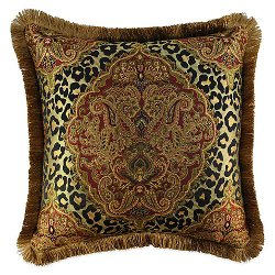 Sherry Kline - Tangiers Square Throw Pillow