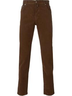 Kiton - Straight Leg Trousers