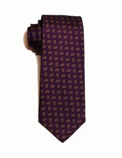 Tie B New York - Classic Paisley Allover Silk Tie