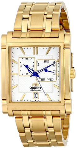 Orient - Multi-Eyes Gold-Tone Stainless Steel Watch