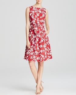 Anne Klein - Floral Print Dress