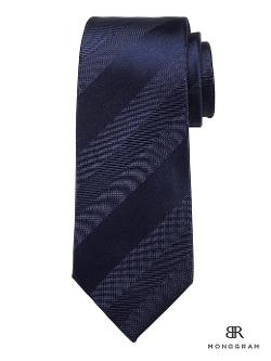 Banana Republic - Textured Stripe Silk Tie