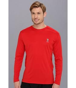 U.S. Polo Assn. - Long Sleeve Performance Crewneck Shirt