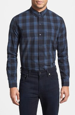 Front Street  - Regular Fit Plaid Sport Shirt