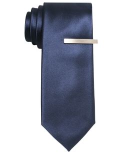 Alfani Red - Solid Skinny Tie