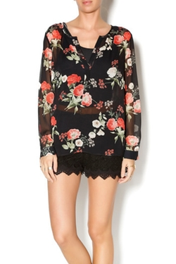 Joie - Floral Silk Blouse