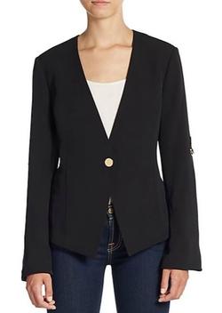 Calvin Klein  - Roll-Sleeve Blazer