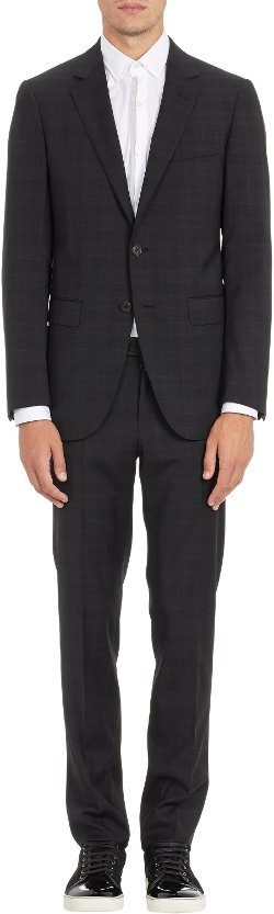 Lanvin  - Shadowcheck Two-Button Suit