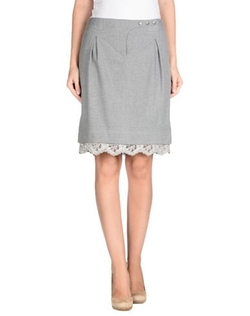 Scervino Street - Knee Length Lace Skirt