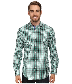 Nautica - Long Sleeve Slim Fit Check Shirt