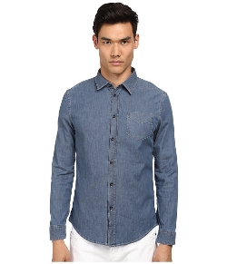 Bikkembergs - Chambray Button Up Shirt