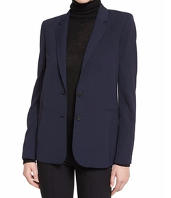 Vince - Woven Two-Button Jacket