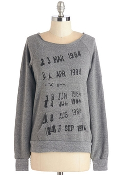 ModCloth - Check It Out Sweatshirt