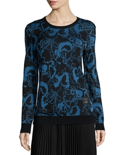 Rag & Bone  - Liberty Floral Pullover Sweater