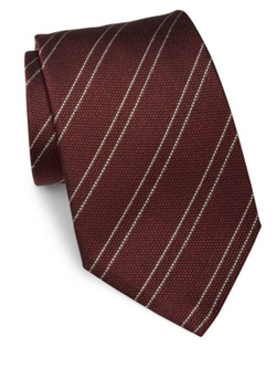 Giorgio Armani  - Striped Silk Tie