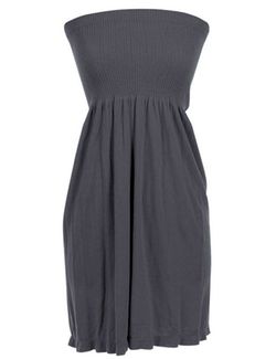 MB Trend - Strapless Flare Sun Dress