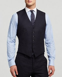 Ralph Lauren Black Label  - Austin Chalk Stripe Vest