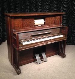 Sterling Piano Company of New York - Library Mission Style Player Piano