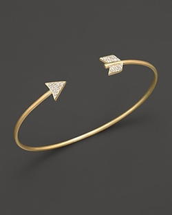 Meira T - Arrow Bangle Bracelet
