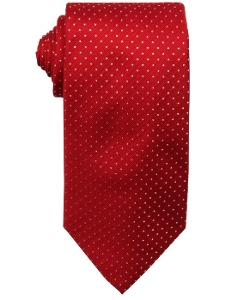 Hugo Boss  - Dot Printed Silk Tie
