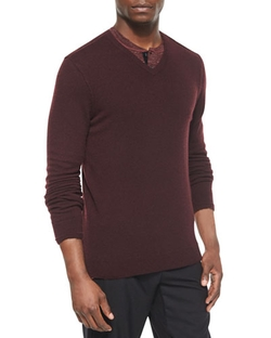 Vince Cashmere  - V-Neck Sweater