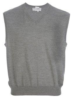 Dolce & Gabbana -  V-Neck Sweater Vest
