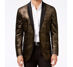 INC International Concepts  - Distressed Foil Blazer