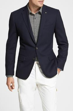Wallin & Bros. - Trim Fit Wool Blazer