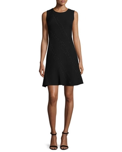 Elie Tahari	  - Harlow Sleeveless Fit-&-Flare Dress