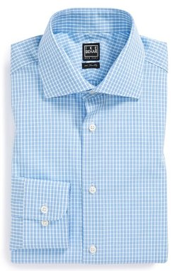 Ike Behar - Classic Fit Check Dress Shirt